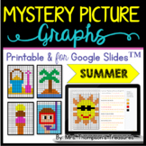 Summer Mystery Picture Graphs