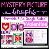 Valentines Day Activities - Mystery Picture Graphs