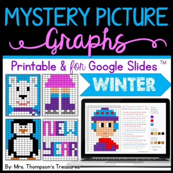 Mystery Picture Graphs - Winter Activities