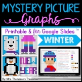 Mystery Picture Graphs - Winter/New Year Pack