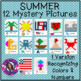 Mystery Picture Growing Bundle Recognizing Colors and Numbers