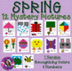 Entire Year Mystery Picture Bundle Recognizing Colors and Numbers