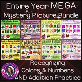 Entire Year Mystery Picture Mega Bundle Recognizing Colors