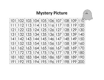 Mystery Picture - Halloween (Hundreds)