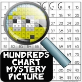 Mystery Picture Hundreds Chart Place Value Tens and Ones C