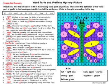 Mystery Picture Language Arts Bundle