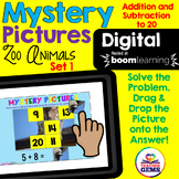 #boomdollardays Digital Mystery Pictures Addition and Subtraction to 20 Set 1