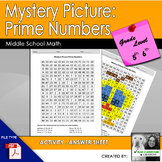 Mystery Picture-Prime Numbers
