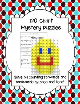 Mystery Picture Puzzles on 120 Chart