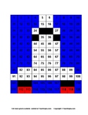 Mystery Picture Space Shuttle (120 Chart) NO PREP great for Common Core math