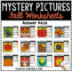 Mystery Picture Worksheets Shapes: Fall