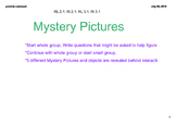 Mystery Pictures