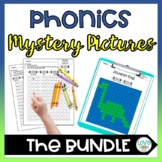 Phonics Mystery Pictures Bundle