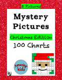 Mystery Pictures – Christmas Edition - Math 100 Chart Numbers