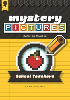 Mystery Pictures: Color By Number Writing Activity Back to School Teachers BTS