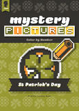 Mystery Pictures: Color By Number Writing Activity St Patr