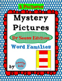 Mystery Pictures – Dr Seuss Edition – Word Families