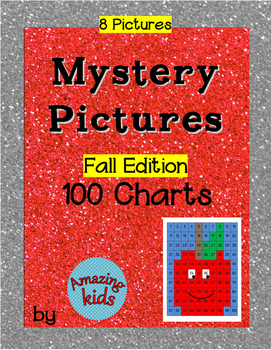 Mystery Pictures – Fall Edition - Math 100 Chart Numbers