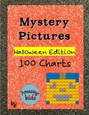 Mystery Pictures – Halloween Edition - Math 100 Chart Numbers