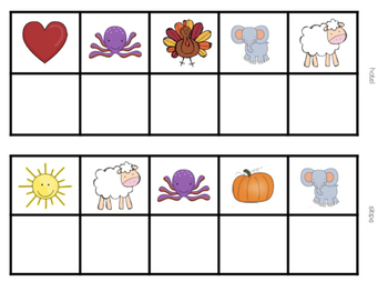 Mystery Pictures (Long Vowels)