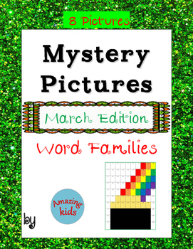 Mystery Pictures - March Edition – Word Families