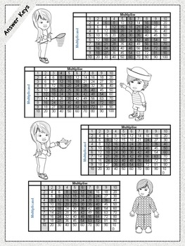 Mystery Pictures  Multiplication