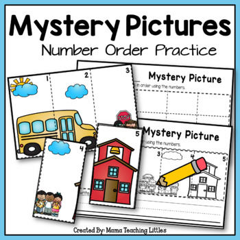 Mystery Pictures - Number Order Practice