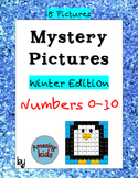 Mystery Pictures – Winter Edition - Numbers 0-10