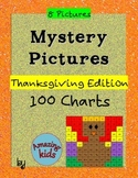 Mystery Pictures - Thanksgiving Edition - Math 100 Chart Numbers