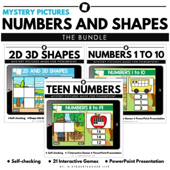 Mystery Pictures Digital Math Games - The Bundle