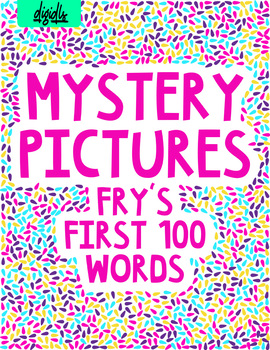 Mystery Pictures (Upset Birds) Fry's Sight Words