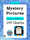 Mystery Pictures – Winter Edition - Math 100 Chart Numbers