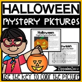 Mystery Pictures for Halloween 100 Chart