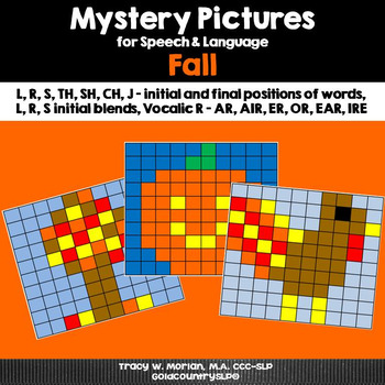 Mystery Pictures for Speech & Language - Fall
