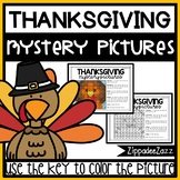 Mystery Pictures for Thanksgiving 100 Chart