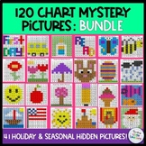 Mystery Pictures on 120 Chart (GROWING Bundle)