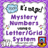 Mystery Pictures on Letter and Number Grid Maps (Coordinate Graphing)