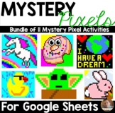 Mystery Pixels Bundle of 11 Activities- For Use with Googl