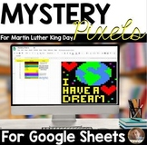 Mystery Pixels- Martin Luther King Research Activity Googl