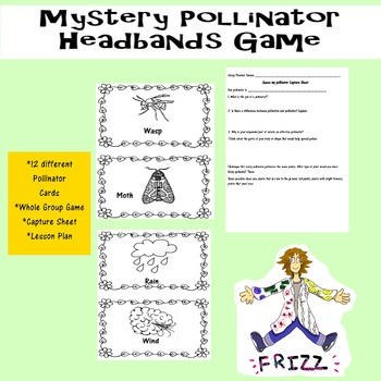 Mystery Pollinator HEADBANDS Game