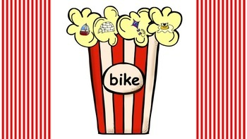 Mystery Popcorn CVCe Word