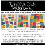Mystery Prize Reveal Board With Sticky Notes (Student Proc
