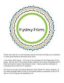 Mystery Prizes