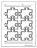 Mystery Puzzle Piece Worksheet