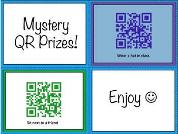 Mystery QR Prizes