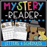 Mystery Reader Parent Letter & Schedule Template