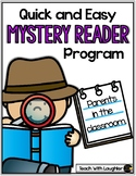 Mystery Readers in the Classroom