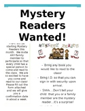 Mystery Reader Flyer - (English)