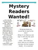 Mystery Reader Flyer - (English)