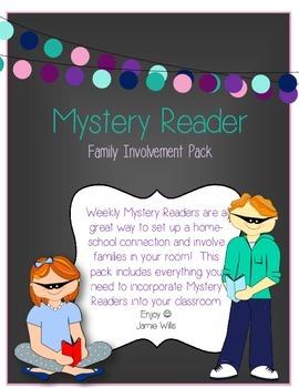 Mystery Reader FREEBIE!